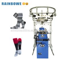 Máquina de confecção de malhas feita sob encomenda automática da peúga do equipamento da meia da indústria para fazer peúgas