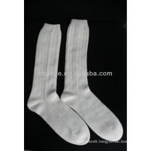 qualitied pure cashmere knitted socks stocking