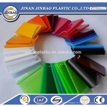 Usine vente directe bon prix feuille acrylique dichroïque pour la vente en gros