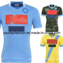 Napoli Jerseys 2014 Higuain Napoli Third Camouflage Jersey Napoli Kits Soccer Jersey Napoli Home Shirts Custom Jersey