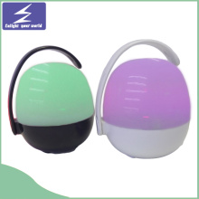 High Quality Wireless LED Nightlight Portable Bluethooth Speaker