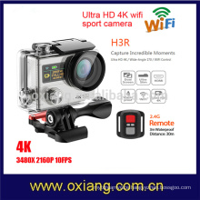 2017 Newest dual Screen4K HD WIFI Action Camera H3R Waterproof Sport Camera + Remote Control DVR Helmet Camcorder