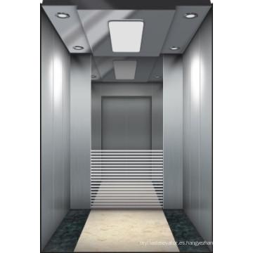 Ascensor síncrona de pasajeros de imán permanente con sala de máquinas elevadoras