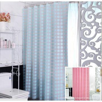 2016 Shanghai DPF 100% polyester rideau de douche d'hôtel
