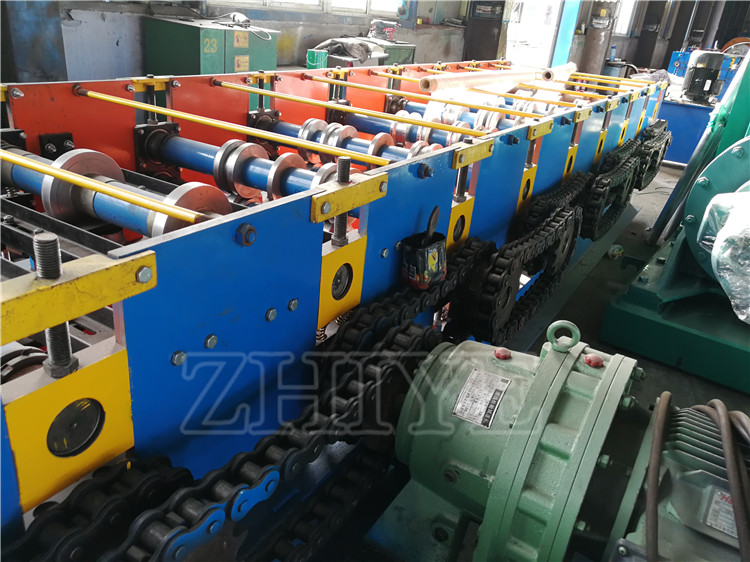 PLC Controlled Zinc Steel Roof Deck Production Line