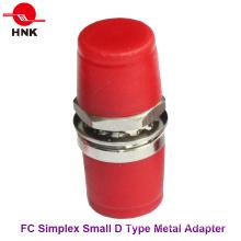 FC Simplex Metal Pequeño Tipo D Adaptador De Fibra Óptica