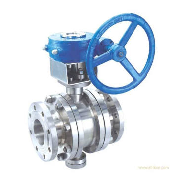 Bolted Flanged Stainless Steel Ball Valve