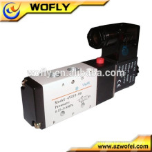 Control neumático 4v110-06 válvula de solenoide del gas 12v