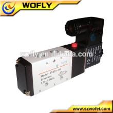 Controle pneumático 4v110-06 válvula de solenóide de gás 12v