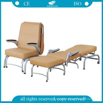AG-AC005 Luxuriöse Komfortable Hohe Qualität Falten ISO & CE Begleiten Stuhl