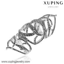 12965 xuping luxe design argent bijoux couleur en gros anneau cadeau pour les femmes