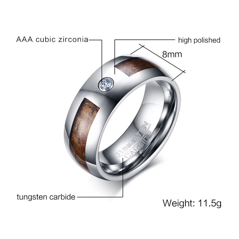unique tungsten mens wedding bands