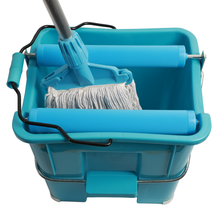 Wholesale cleaning floor tool factory price recycled plastic mop bucket with wringer