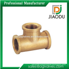 forged female threaded brass screw tee