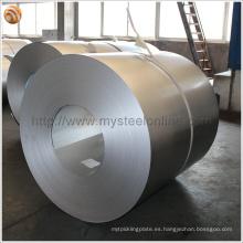 Acero revestido de alambre ancho de 1000mm de espesor de 0,5 mm Acero AZ40-AZ150 G300 Acabado de cromo para techo o cercado