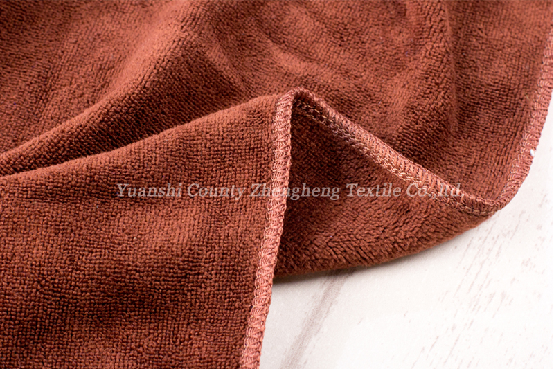 Weft Knitting Microfiber Towel-020