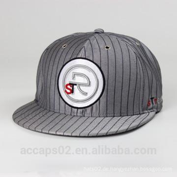 Kundenspezifische xxl flache rand passende hüte