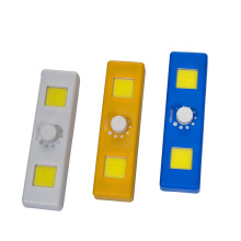 Newest COB battery  dimmer led switch light