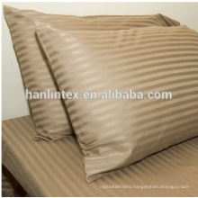 high quality cotton satin stripe fabric for hotel / egyptian cotton fabric