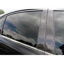 Carbon composite car window cover