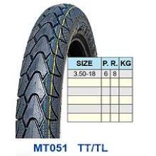 Neumático de la motocicleta 3.50-18