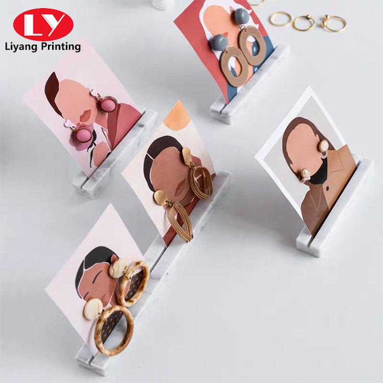 Earring Display Card