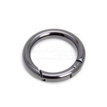 1 anneau en métal à ressort