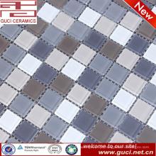 venda quente produto piscina parede e piso misturado mosaico de vidro