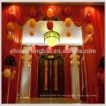 Schimmer Kulisse Vorhang / fancy valance roten Bühnenvorhang