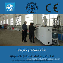 pe pipe extrusion machinery turnkey project ISO,CE