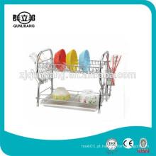 Chrome Plating Dish Organizer / Acessórios de cozinha Plate holder