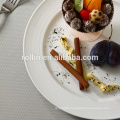 Hotel & restaurant white porcelain plate, Microwave safe crockery plates, Italian Design Restaurant Crockery