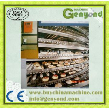 Máquina de congelação rápida do túnel IQF do vegetal