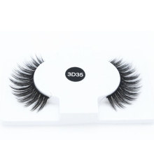 High Quality Handmade Eyelashes Wholesale Custom Lash Packaging 3D Faux Mink Strip Eyelashes