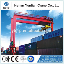 Rubber Tyre Gantry Crane RTG Crane Lifting Mechanism