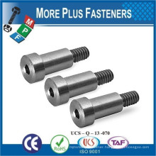 Made In Taiwan Hardened Steel Flat Head Smooth Head Shoulder Bolt