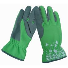Förderung-synthetische Leder-Qualitäts-Frauen-Gartenhandschuhe