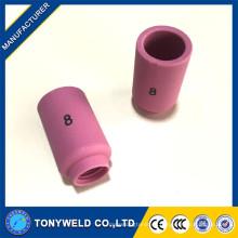 Buenos consumibles tig punta boquillas de cerámica 13N12 13N13