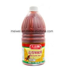 2,5 kg Chili Knoblauch Sauce in Plastikflasche