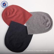 2015 chaud chapeau de mode chapeau GWC014 en gros et au détail de haute qualité mélangé couleur 100% pur chapeau de cachemire naturel