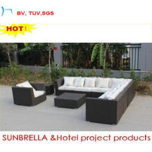 2016 Rattan Sectional Sofa Tbale Furniture Garden Sofa