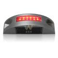 red LED flashing aluminum pavement solar road stud
