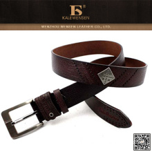 Factory price high quality leather belt for men