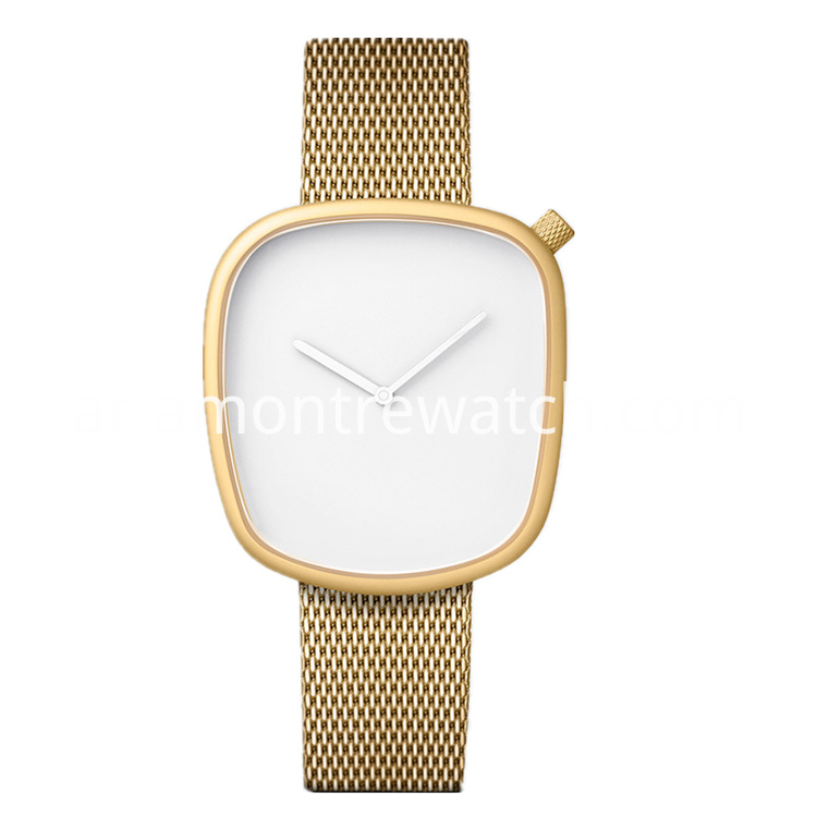 gold personality watch