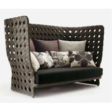 Сад Открытый патио Плетеная мебель из ротанга