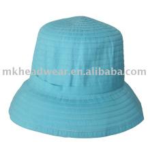 Sombrero de trenza de poliéster