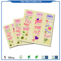 Decorative cartoon printed paper stickers