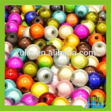 Wholesale all size stock round spacer illusion miracle beads