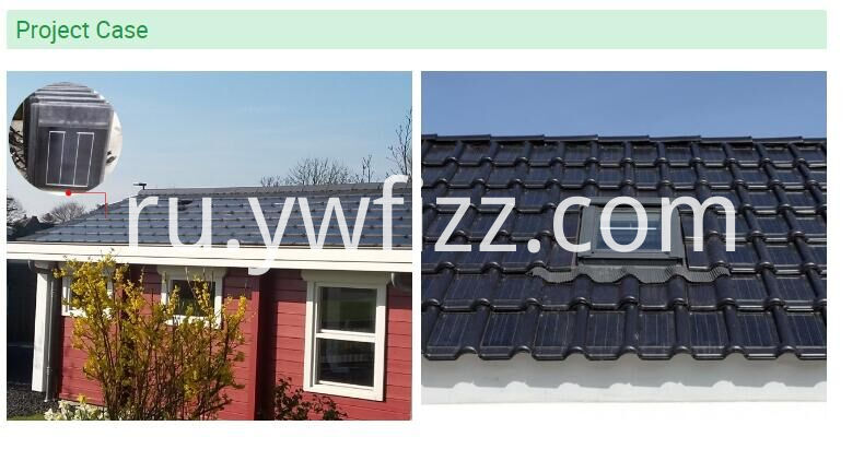 High - efficiency Solar Roof Panel