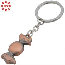 Kundenspezifisches Entwurfs-niedliches Metall Süßigkeit Keychain